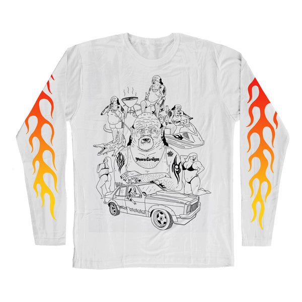 Admin Reveal Longsleeve (White)