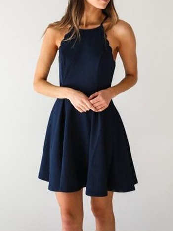 Simple Cheap Homecoming Dresses Aline Short Prom Dress Sexy Party Dress JK844|Annapromdress