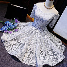 2017 Homecoming Dress Lace Off-the-shoulder Short Prom Dress Party Dress JK098