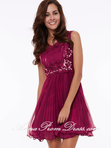 Sexy Homecoming Dress V-neck A-line Lace Royal Blue Short Prom Dress Party Dress 306291
