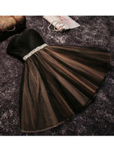 2017 Homecoming Dress Strapless Ribbons Belt Short Prom Dress Party Dress JK033