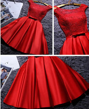 2017 Homecoming Dress Chic A-line Lace Short Prom Dress Party Dress JK038