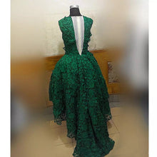 2017 Homecoming Dress Dark Green Asymmetrical Short Prom Dress Party Dress JK130