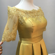 2017 Homecoming Dress Gold Off-the-shoulder Short Prom Dress Party Dress JK155