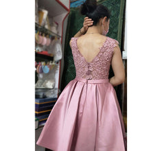 2017 Homecoming Dress Chic Champagne Red Short Prom Dress Party Dress JK169