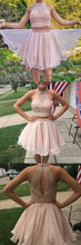 Homecoming Dress Two Pieces Sexy Short Prom Dress Party Dress JK171|Annapromdress