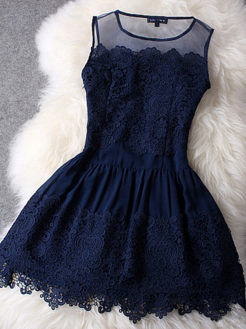 c0eead2abd6 2017 Homecoming Dress Sexy Dark Navy Lace Short Prom Dress Party Dress JK245