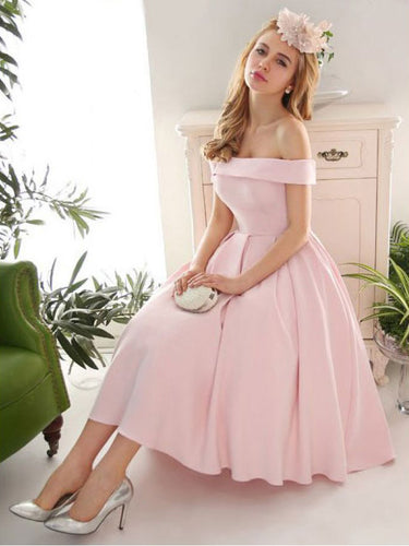 Sexy Homecoming Dress Off-the-shoulder Short Prom Dress Party Dress JK297