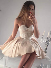Beautiful Homecoming Dress Sexy Fashion Appliques Short Prom Dress Party Dress JK395