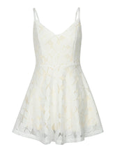 Cheap Homecoming Dress Spaghetti Straps Lace Ivory Short Prom Dress Party Dress JK417