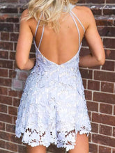 Beautiful Lace Homecoming Dress Sexy Fashion Short Prom Dress Party Dress JK418