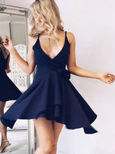 Sexy Homecoming Dress Spaghetti Straps Chiffon Short Prom Dress Party Dress JK426
