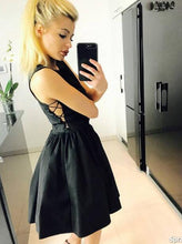 Little Black Dress Sexy Cheap Homecoming Dress Short Prom Dress Party Dress JK444