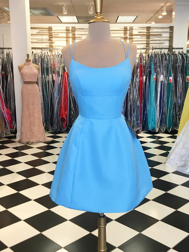Cheap Homecoming Dresses Lace-up A Line Short Prom Dress Sexy Party Dress JK655|Annapromdress
