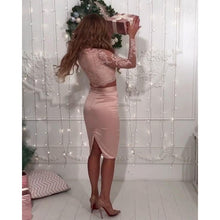 Long Sleeve Two Piece Homecoming Dresses Column Short Prom Dress Sexy Party Dress JK667|Annapromdress