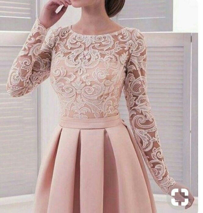 Simple Long White Dress With Sleeves Naf Dresses: Long Sleeve Homecoming Dresses Lace A Line Simple Short