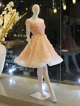 Lace Homecoming Dresses Beautiful Sparkly Short Prom Dress Party Dress JK730|Annapromdress