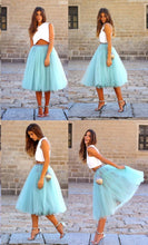 Two Piece Homecoming Dresses V-neck Fashion Cheap Short Prom Dress Party Dress JK738|Annapromdress