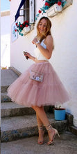 Two Piece Homecoming Dresses A-line Beautiful Short Prom Dress Simple Party Dress JK772|Annapromdress