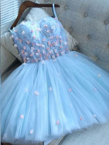 Cute Homecoming Dresses A Line Sweetheart Short Prom Dress Lace Party Dress JK781|Annapromdress