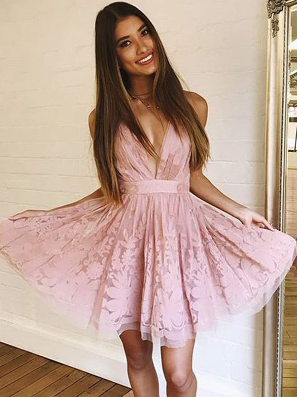 d3f1922371 Cute Homecoming Dresses Spaghetti Straps Lace Short Prom Dress Sexy Party  Dress JK826