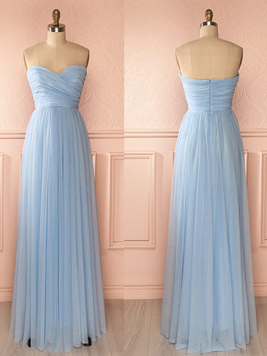 Cheap Bridesmaid Dresses Aline Sweetheart Ruffles Boho Simple Bridesmaid Dresses JKB067|Annapromdress