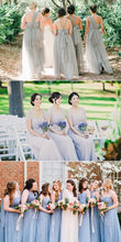 Chic Bridesmaid Dresses One for All Dress A-line Tulle Simple Bridesmaid Dresses JKB071|Annapromdress