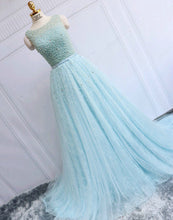 Prom Dresses Long Lace Beading Lace-up Prom Dress/Evening Dress #JKL037