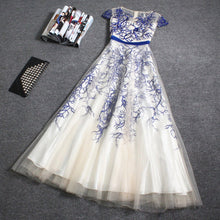 Beautiful Prom Dresses Embroidery A-line Long Prom Dress/Evening Dress JKL055