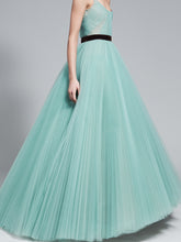 Beautiful Prom Dresses Straps Ball Gown Long Prom Dress/Evening Dress JKL062|Annapromdress