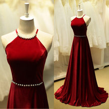 Beautiful Prom Dresses Sexy Halter Criss-Cross Straps Prom Dress/Evening Dress JKL066