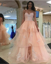 Beautiful Prom Dresses Sweetheart Aline Long Chic Prom Dress JKL1043|Annapromdress