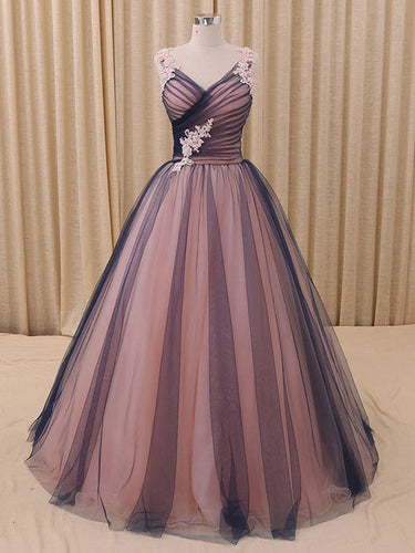 Beautiful Prom Dresses Ball Gown Floor-length Prom Dress/Evening Dress JKL112