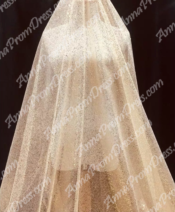 a1b5b15e ... Sparkly Prom Dresses Spaghetti Straps A-line Gold Bling Long Sexy Prom  Dress JKL1189| ...