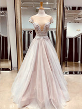 Beautiful Prom Dresses A-line Floor-length Beading Appliques Long Sexy Prom Dress JKL1473|Annapromdress