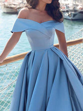 Cheap Prom Dresses Off-the-shoulder Long Sweep/Brush Train Sexy Prom Dress/Evening Dress JKL225