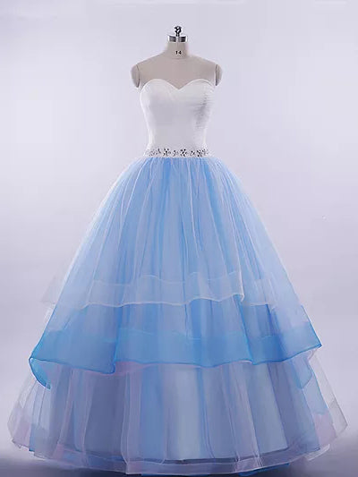 Beautiful Prom Dresses Sweetheart Ball Gown Long Prom Dress/Evening Dress JKL248