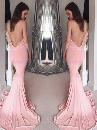 Sexy Prom Dresses Trumpet/Mermaid V-neck Long Prom Dress/Evening Dress JKL307