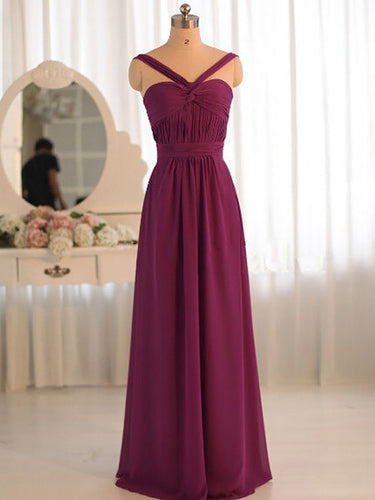 Cheap Prom Dresses Straps A-line Floor-length Sexy Prom Dress/Evening Dress JKL316