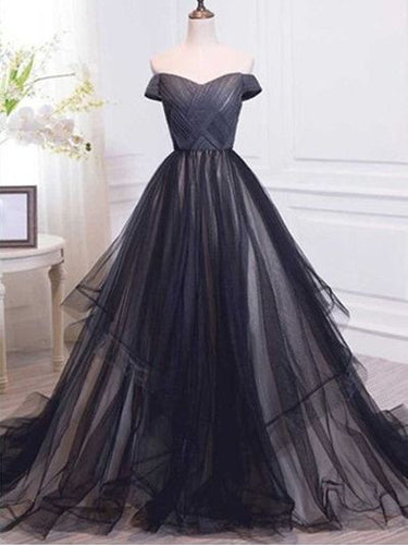Sexy Prom Dresses Ball Gown Sweep/Brush Train Cheap Prom Dress/Evening Dress JKL332