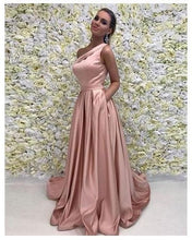 Chic Prom Dresses One Shoulder Sweep/Brush Train Sexy Prom Dress/Evening Dress JKL333|Annapromdress