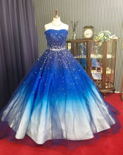 Beautiful Prom Dresses Sweetheart Sweep/Brush Train Ball Gown Prom Dress/Evening Dress JKL356|Annapromdress