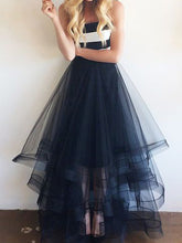 Cheap Prom Dresses Strapless Floor-length Tulle Long Prom Dress/Evening Dress JKL360