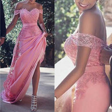 Sexy Prom Dresses Sheath/Column Short Train Chic Prom Dress/Evening Dress JKL368