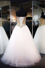 Chic Prom Dresses Sweetheart Floor-length Rhinestone Prom Dress/Evening Dress JKL372