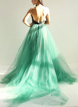 Cheap Prom Dresses Spaghetti Straps Hunter Green Sexy Prom Dress/Evening Dress JKL390