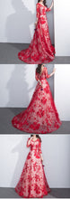 Beautiful Prom Dresses Off-the-shoulder Floor-length Sexy Prom Dress/Evening Dress JKL415
