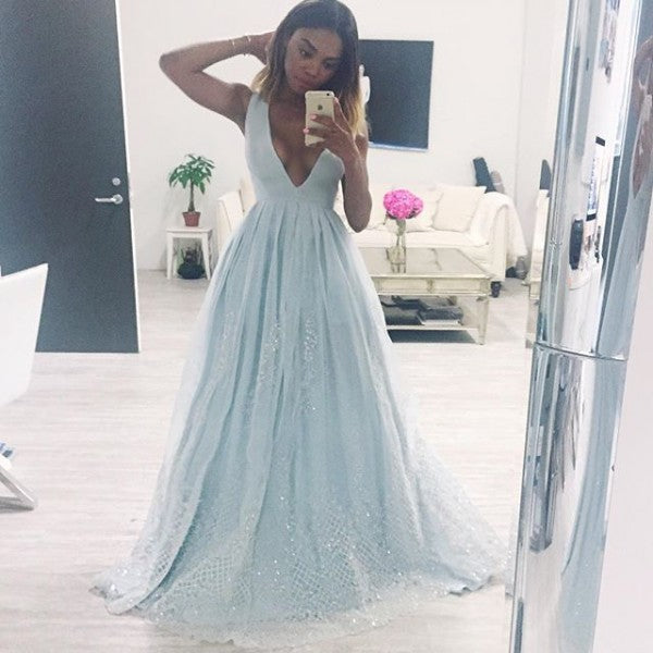 Beautiful Prom Dresses A-line Short Train Lace Prom Dress/Evening ...