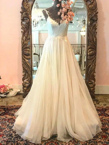 Cheap Prom Dresses Spaghetti Straps Appliques Chic Long Prom Dress/Evening Dress JKL449