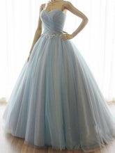 Chic Prom Dresses Ball Gown Sweep/Brush Train Ruffles Sexy Prom Dress/Evening Dress JKL452